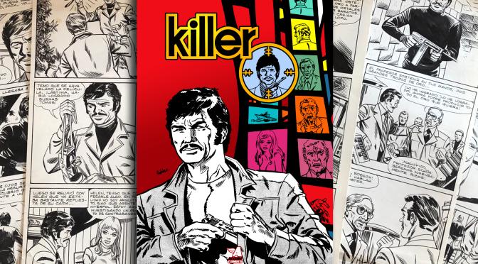KILLER: Un clásico del cómic chileno regresa restaurado por primera vez desde 1974